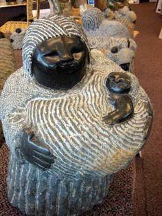 Colleen Madamombe (Shona artist). Zimbabwe stone sculpture