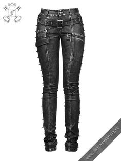 K-170 Punk Rave female trousers | Fantasmagoria.eu - Gothic Fashion boutique