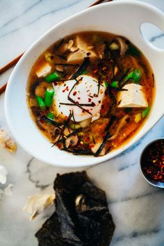 Weeknight Miso Soup · The Crepes of Wrath - The Crepes of Wrath