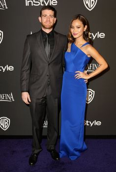 Pin for Later: Après les Golden Globes, L'After-Party! Bryan Greenberg et Jamie Chung