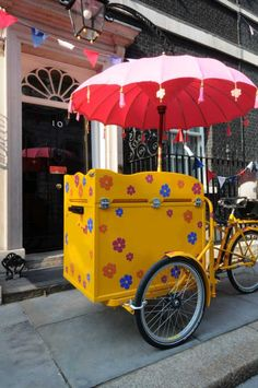 Ice Cream Tricycle - Food Service | London: 1960s Ice Cream Tricycle