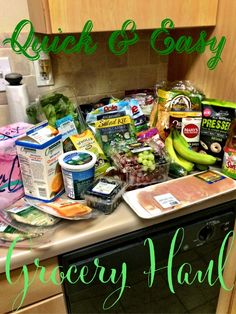 Hubs and I finally had the chance to get some groceries after getting back in town from our family reunion. This trip was very different bec. Salad Kits, Healthy Facts, Grocery Haul, 21 Day Fix, Pop Tarts, Snack Recipes, Southern, Chips, Fitness