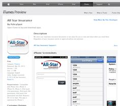 All-Star insurance has launched their mobile app on Apple and android devices. They are excited to give self-service certificates, digital ID cards, and policy documents to their customers via their own mobile customer portal. Both commercial and personal lines customers will be benefiting from their mobile insurance app, and the agents at All-Star have already begun working it into their pitch when they sell new policyholders.