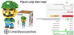Figura Luigi tipo Lego disponible por sólo 1 - http://ift.tt/2qrQJTt