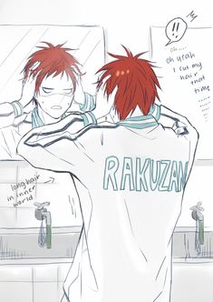 Kuroko no Basket - Seijuurou Akashi (赤司 征十郎) - he's back! Akashi Kuroko, Akashi Seijuro, Kagami Taiga, Basketball Anime, Basketball Funny, Anime Nerd, Anime Life, Haikyuu, Kuroko No Basket Characters