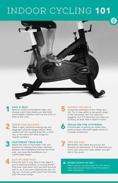 c3e45c734ab6 Indoor Cycling 101  cycling  spinning  fitness  tips Gym Workouts