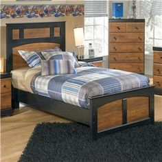 Ashley Furniture Bedroom Sets Boys two tone | ... Ashley - Rife's Home Furniture - Signature Design by Ashley Aimwell