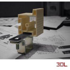 Aluminium Extrusion Profile Prototype : #sketch #product #productdesign #productdesigner #design #3d #3dprinting #prototype by 3d_lance
