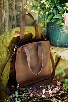 Check out this item in my Etsy shop https://www.etsy.com/listing/400251861/leather-tote-bag-crossbody-bag-brown