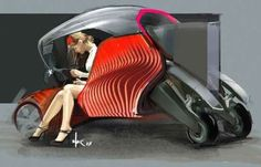 Audi Has Come Up with the Futuristic Concept for a 3D-Printed Car #Cars #Automobiles