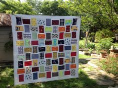 Sew And Tell Quilts: Memorial Boxer Shorts Quilt -- possible for Derek Memory Quilt