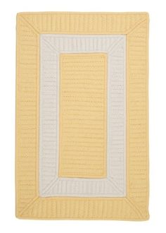 Rope Walk Braided Rug 2 by 8 Yellow ** Find out more about the great product at the image link.
