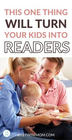 This one simple thing will turn your kids into readers. Do you want to turn your little one into an avid reader? Follow this simple trick to turn your kids into readers. #raisingreaders #parentingtips #readaloud #readingtips #readtokids