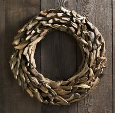 Driftwood offers a beachy twist on the traditional wreath
