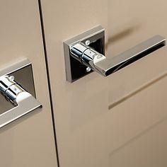 Showcase Detail Door Levers, Custom Cabinetry, Simple Lines, Exterior Doors, Home Renovation, Door Handles, Hardware, House Design, Contemporary