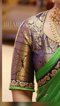 Best Blouse Designs, Simple Blouse Designs, Stylish Blouse Design, Pattu Saree Blouse Designs, Brocade Blouse Designs, Traditional Blouse Designs, Designer Blouse Patterns, Sarees, Bridal