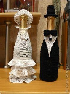 """Жених с невестой Вязание крючком """" ProstoDelkino.com - поделки своими руками."""
