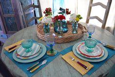 spring flower table