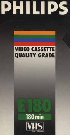 .design retrô: VHS Philips
