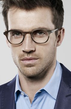 3a4027f35ae Horn and titanium glasses - by Lindberg