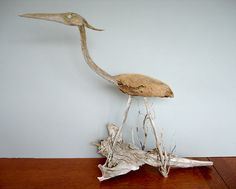 Small Driftwood Heron | Flickr - Photo Sharing!