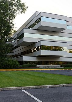 Details of One Independence Way - Princeton Corporate Center - Princeton NJ by SA_Steve, via Flickr