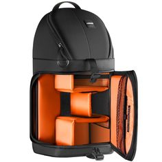 Neewer Professional Camera Case Sling Backpack for Nikon Canon Sony and Other DSLR Cameras and Lens,Tripod,Other Accessories,Durable Waterproof and Tear Proof Bag with Padded Dividers(Orange Interior) ** Find out more about the great product at the image link. (This is an Amazon Affiliate link and I receive a commission for the sales)