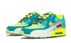 DS WOMENS NIKE AIR MAX 90 PREMIUM DB FREESTYLE DOERNBECHER 838767 374 SZ 8 FREE