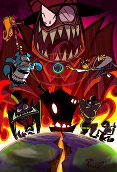 Villainous/Villanos es una serie de cortos animados co-producida entr… #detodo # De Todo # amreading # books # wattpad