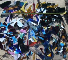 STAINED GLASS SCRAPS, 11.5 POUNDS. SMALL,  MEDIUM &  LARGE, NOT ONE PIECES SAME #MOSTLYFROMTHESPECTRUMFAMILY