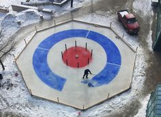 Curling and crokinole collide to create uniquely Canadian game