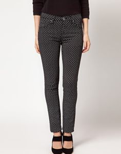 More Polka Dot jeans..
