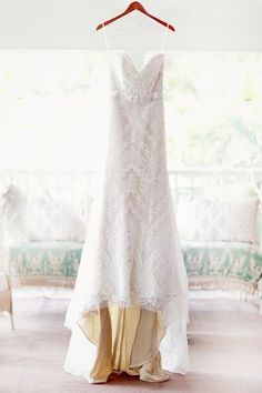 Wedding Photography Ideas : lace wedding gown by Marisa  photo by simplybloomphotog  ruffledblog.com/..
