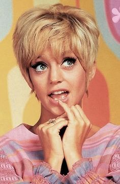 """Laugh In""  Goldie Hawn"
