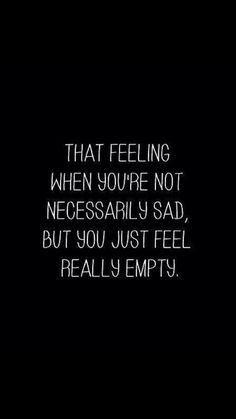 #G I've felt empty every since u left!!