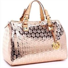 a32b4be00c86d Shop Women s Michael Kors size OS Satchels at a discounted price at  Poshmark. Description  Auth Rose Gold Greyson MK satchel.