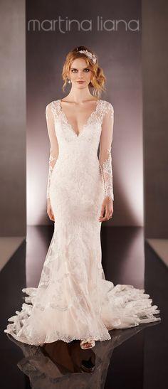 ILLUSION BACK WEDDING DRESS STYLE 675 - ELEGANCE BY ROYA 1311 King Street Alexandria VA 703 838 9282
