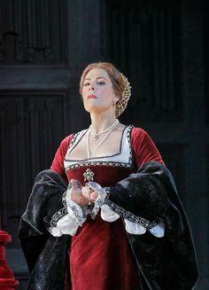 Sondra Radvanovsky en Anna Bolena, Metropolitan Opera (Fotos Ken Howard/Metropolitan Opera)