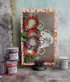 A bunch of flowers card by Riikka