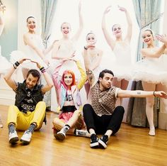 taylor is my favorite prima ballerina.   On the Set of 'Still Into You'