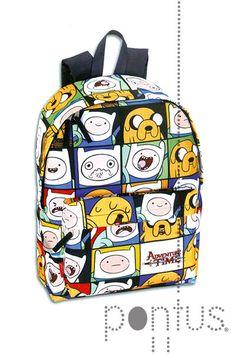 Mochila Adventure Time day pack 43x30x14cm | JB