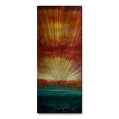 Artist: Keith BurnettTitle: Above and BelowProduct type: Metal Wall Art