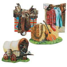 Cowboy Cutouts | Wally's Party Factory #western #cowboy #cutout