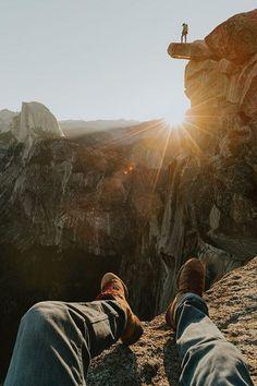 Sunrise at Glacier Point, Yosemite | ( by Garrett King )
