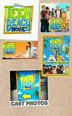 Teen beach movie Team Beach Movie, Pic Collage Photos, Teen Beach, Maia Mitchell, Movie Themes, It Cast, Parties, Party Ideas, Baseball Cards