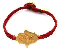 Kabbalah Protection Gold Hamsa Bracelet