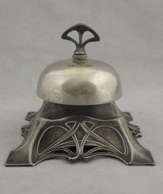 Antique German WMF Art Nouveau Mechanical Bell