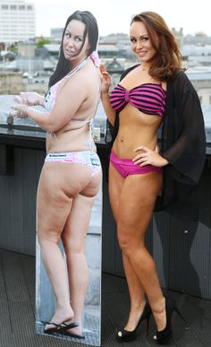 Chanelle Hayes reveales dramatic weight loss in a Bikini - photocall at the Trafalgar Hotel, London  - 20 May