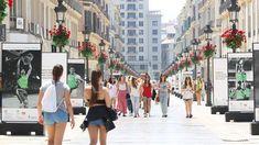 Calle Larios, Malaga - Costa del Sol (Espagne)