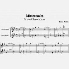 """""""Mitternacht"""" Tenorhorn Duett"""